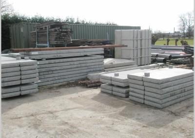 verkoop betonplaten