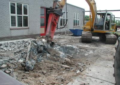 sloop betonnen vloer