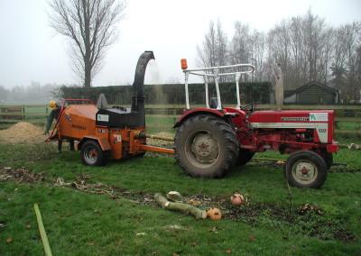 tractor Vandaele versnipperaar