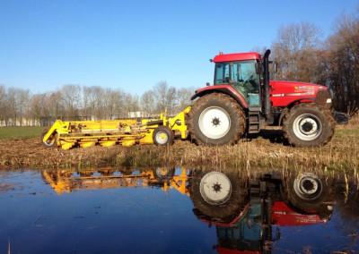 Tractor met wallenfrees