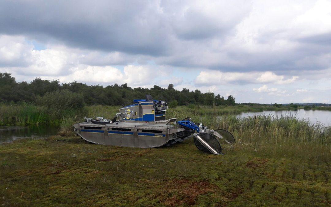 Truxor DM5045 Amfibie machine